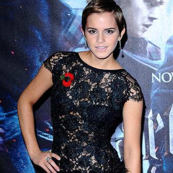 Emma Watson at the world premiere of Harry Potter and The Deathly Hallows: Part One at the Odeon West End in Leicester Square, London