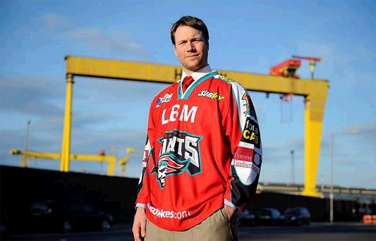 Belfast Giants boss Doug Christiansen