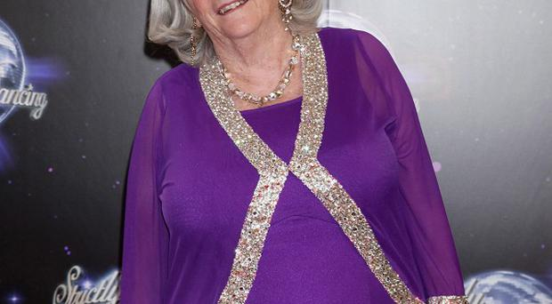 Ann Widdecombe is awaiting the verdict of the public