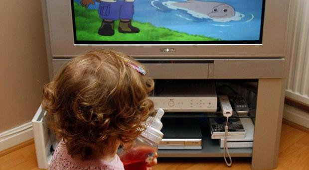Children are starting nursery unable to speak and listen properly because of continuous noise and poor conversation at home, says a report
