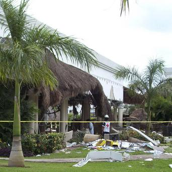 Seven people died at the Grand Riviera Princess Hotel in Playa del Carmen, Quintana Roo state, Mexico (AP)