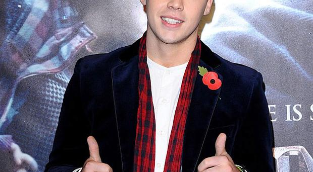 Aiden Grimshaw lost out in the X Factor results show