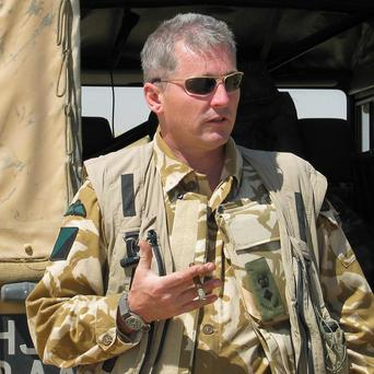 Colonel Tim Collins has accused the Government of deserting the people of Iraq and abandoning ancient civilisations to their fate at the hands of Islamic extremists