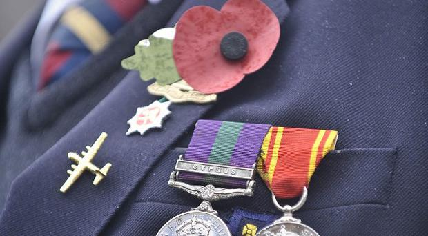 War veterans will be honoured at a second cross-border service involving veterans from the Irish Republic and the north