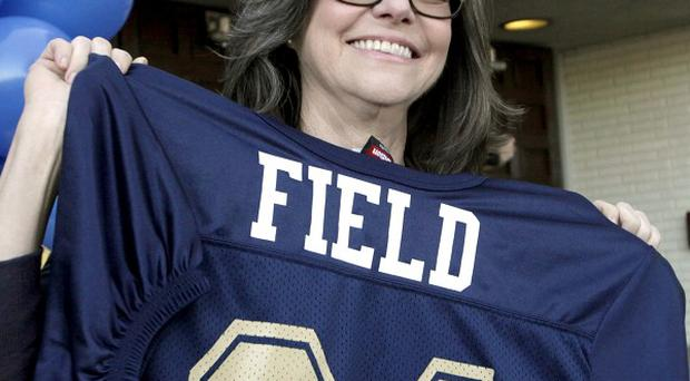 Sally Field went back to her old high school