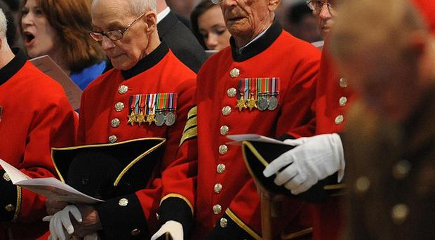Burglars who stole more than £6,000 from Chelsea Pensioners may have deliberately targeted them