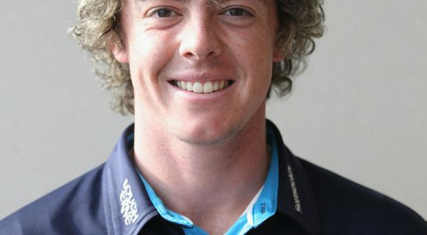 Rory McIlroy of Northern Ireland during the UBS Press Conference at the International Finance Centre on November 16, 2010 in Hong Kong