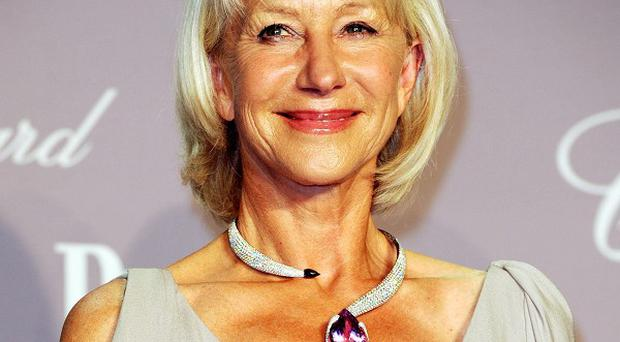 Dame Helen Mirren will receive the Sherry Lansing Leadership Award at a ceremony next month
