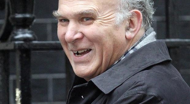 Business Secretary Vince Cable will appear in the Strictly Christmas special