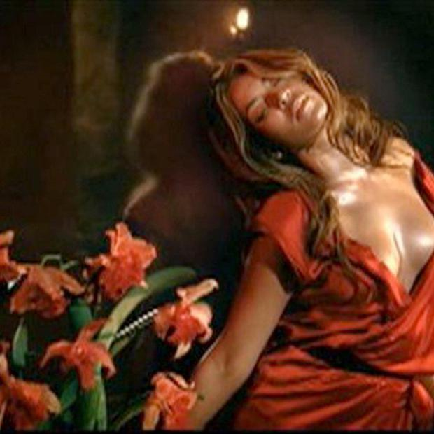 Beyonce's perfume ad has been banned during the daytime