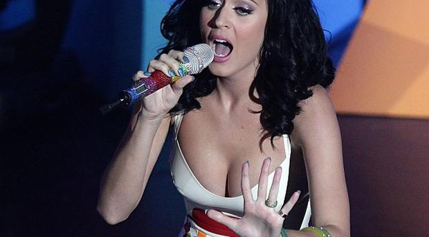 Katy Perry performs on stage during the Radio 1 Teen Awards