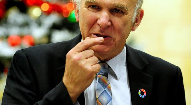 Vince Cable refused to ban the overseas sale of sodium thiopental