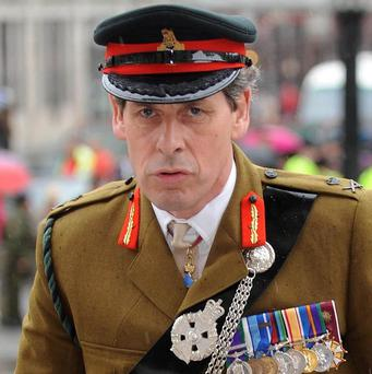 General Sir Nick Parker said he had raised 'unrealistic' public expectations about the mission in Afghanistan