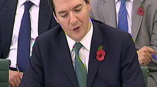 The Treasury is considering all options for financial aid to Ireland, Chancellor George Osborne has said