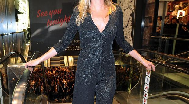 Kate Moss has been named the best-dressed woman of the decade