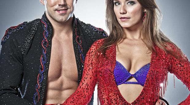 Gavin Henson and Katya Virshilas are struggling with the lifts for this week's show