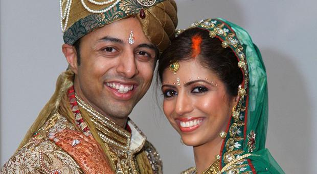 Shrien Dewani with his wife Anni, who was murdered in South Africa (Bristol Evening Post)