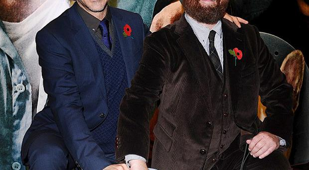 Due Date, starring Robert Downey Jr and Zach Galifianakis, has topped the global box office