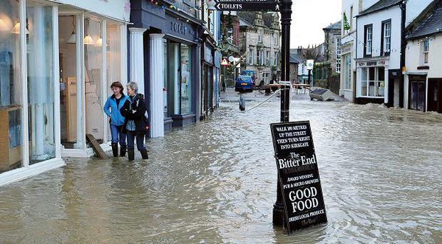 Wrecked homes and businesses caused by the Cumbrian floods left a 276 million pound bill