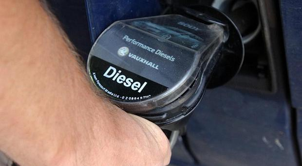 The price of diesel at the pumps has returned to around its highest level of the year