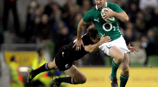 <b>Rob Kearney - 5</b><br /> Did really well to win the restart which ultimately led to Ferris's try, but did lose the ball in contact on a couple of occasions and, yet again, never really looked in vintage form.