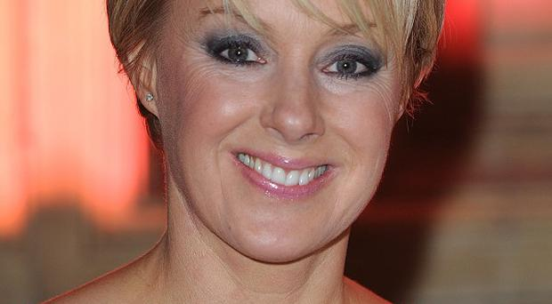 Sally Dynevor has praised a cancer hospital in Manchester