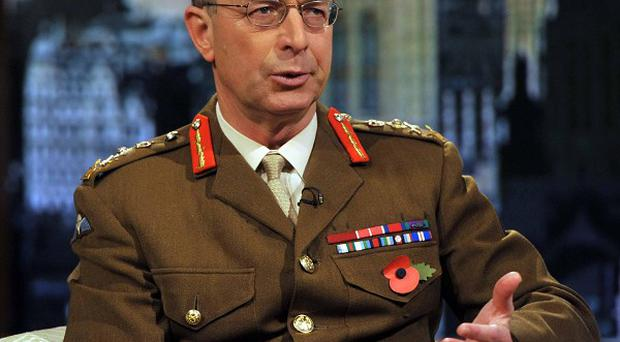 General Sir David Richards has backed the Government over cuts in defence spending