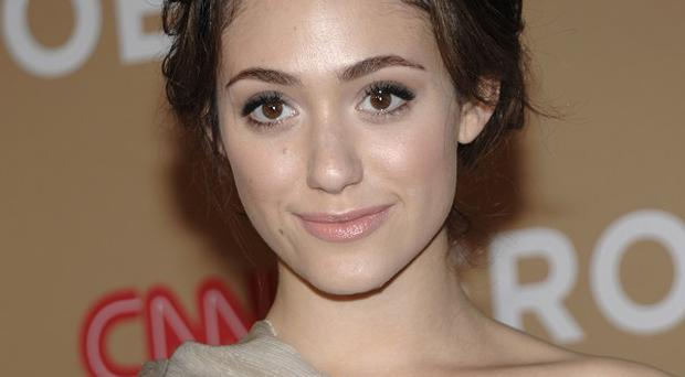 Emmy Rossum plays Fiona in the US version of Shameless