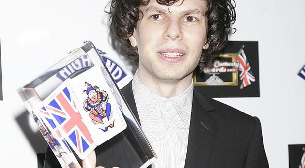 Simon Amstell shocked viewers with a joke about Russell Watson