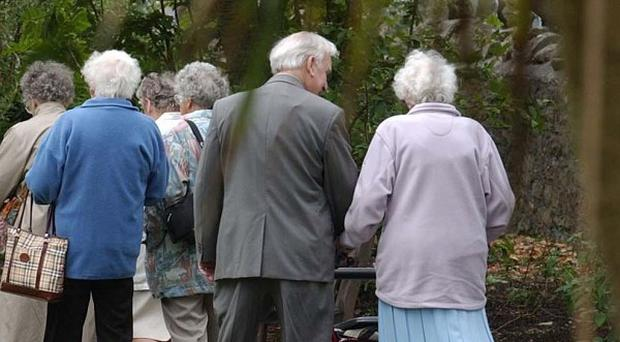 Family breakdown has left more pensioners without relatives to care for them, a study found