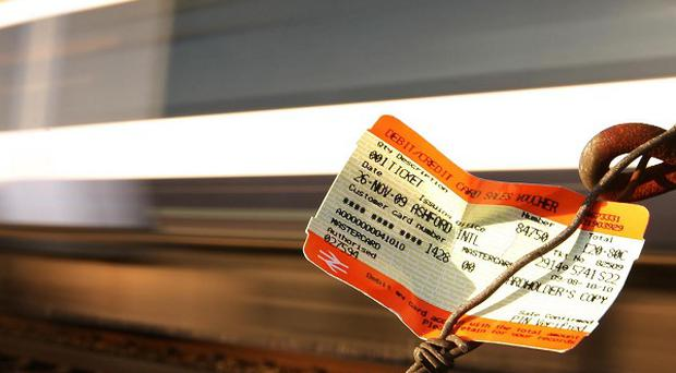 Train companies have been condemned after announcing that fares would rise by an inflation-busting 6.2 per cent