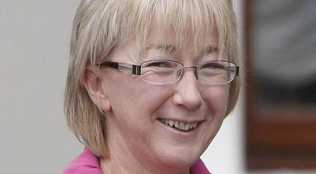 Health Minister Mary Hanafin has attacked the Green Party for issuing a call for a general election
