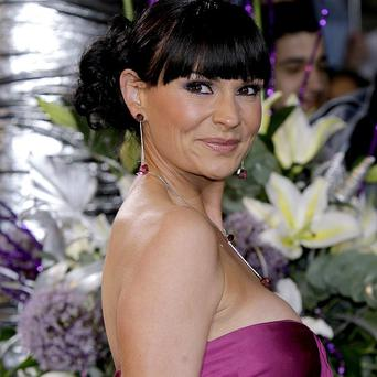 Lucy Pargeter plays Chas Dingle, whose life is at risk in the fire