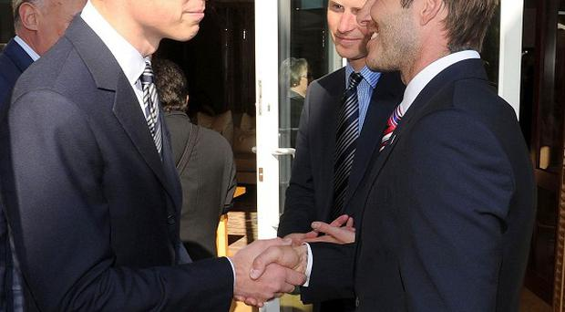 Prince William will join David Beckham once again as part of the England bid team for the 2018 World Cup