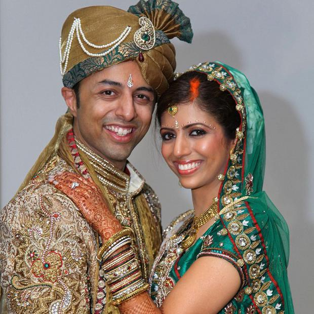 Anni Dewani, who was shot dead on her honeymoon in South Africa, with husband Shrien