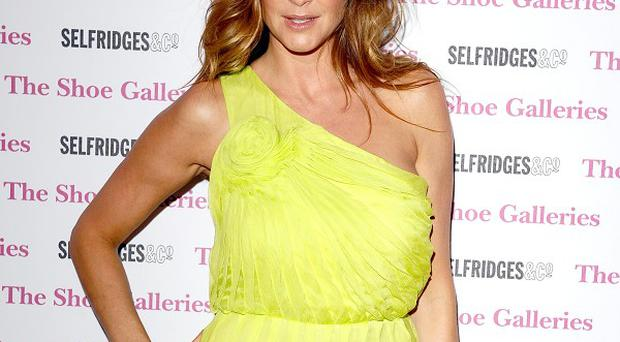 Lisa Snowdon is on the mend after a bout of viral meningitis