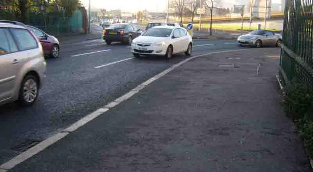 The junction of Middlepath Street and the Newtownards Road