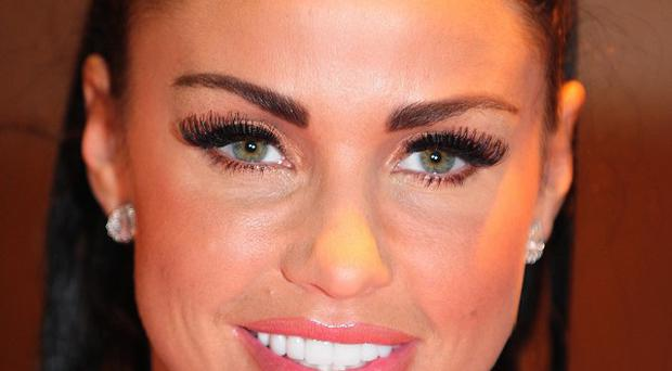 Katie Price says her children Junior and Princess won't appear on her TV shows