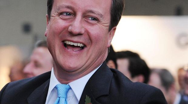 David Cameron said measuring the nation's wellbeing will make it easier to help people attain 'the good life'