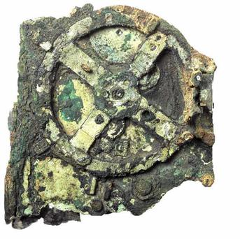 The Antikythera Mechanism is badly corroded, which makes it difficult to study