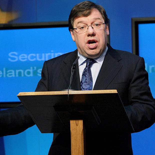 Taoiseach Brian Cowen announced the National Recovery Plan