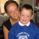 Jack Watson aged 4 with his mum Joanne