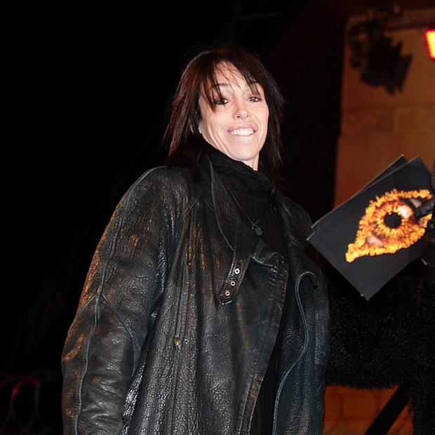 Heidi Fleiss was not hurt in the fire