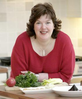 MASTER CLASS: Catering students at the Northern Regional College are taught by chef Paula McIntyre