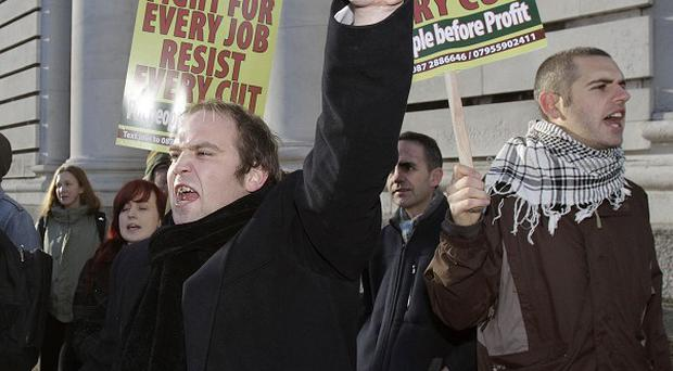 Public sector workers have been urged to join a mass rally on Saturday