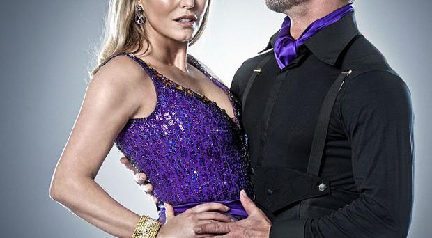 Patsy Kensit says Strictly Come Dancing has helped her get over the collapse of her marriage