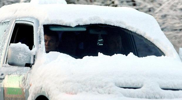 Motorists have been warned to be prepared ahead of this weekend's cold snap, which is likely to bring snow