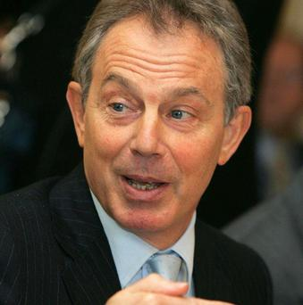 Tony Blair said religion did not affect his decision to go to war in Iraq