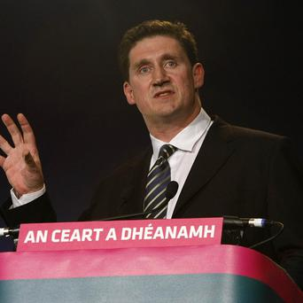 Communication Minister Eamon Ryan