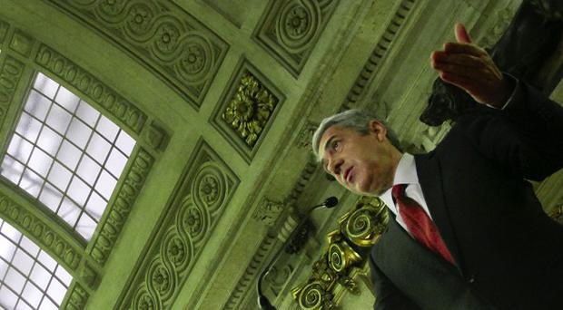 Portuguese PM Jose Socrates makes an statement after the final approval of his government's 2011 state budget (AP)